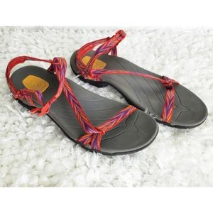 Teva anatomic footbed shoc pad sandals size 10